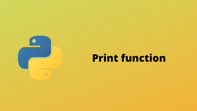 HackerRank Print Function solution in Python