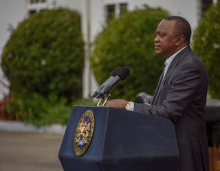 President Kenyatta urge people to be calm in the Nominations. PHOTO | Courtesy
