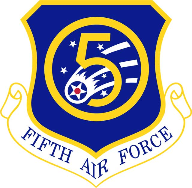 Fifth Air Force shield, 5 February 1942 worldwartwo.filminspector.com