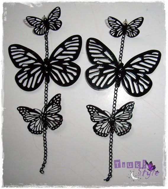 pendiente mariposa buyincoins