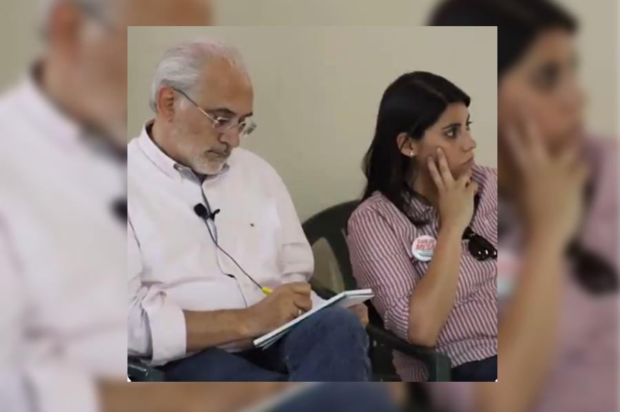 Mesa impulsó la carrera política de Barrientos desde la campaña electoral / TWITTER