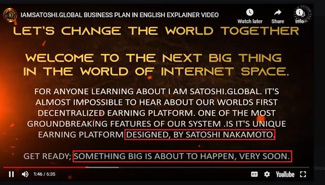 Iamsatoshi.global और  Arbitrage.is एमएलएम स्कैम्स