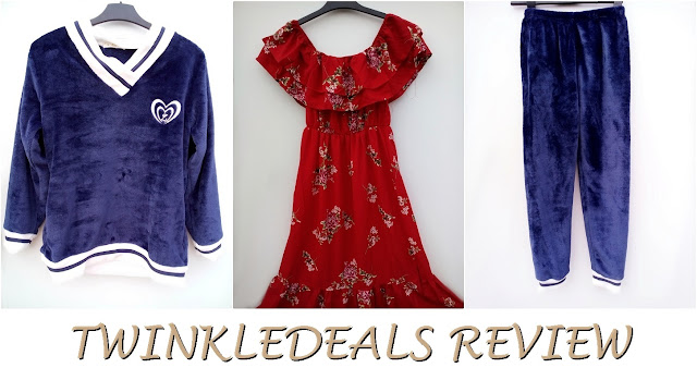 twinkledeals, my hones review, recenzija, pidžama, pajama set, mekano, udobno, fuzzy, cozy, warm, topla, majica, hlače, shirt, pants, sleepwear, plava, navy blue, stripes-horz