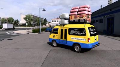 Mobil Angkot Ets2