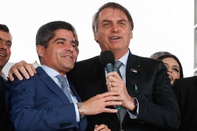 Para atrair DEM, Bolsonaro cogita oferecer vice ou apoio em disputa pelo governo da Bahia a ACM Neto