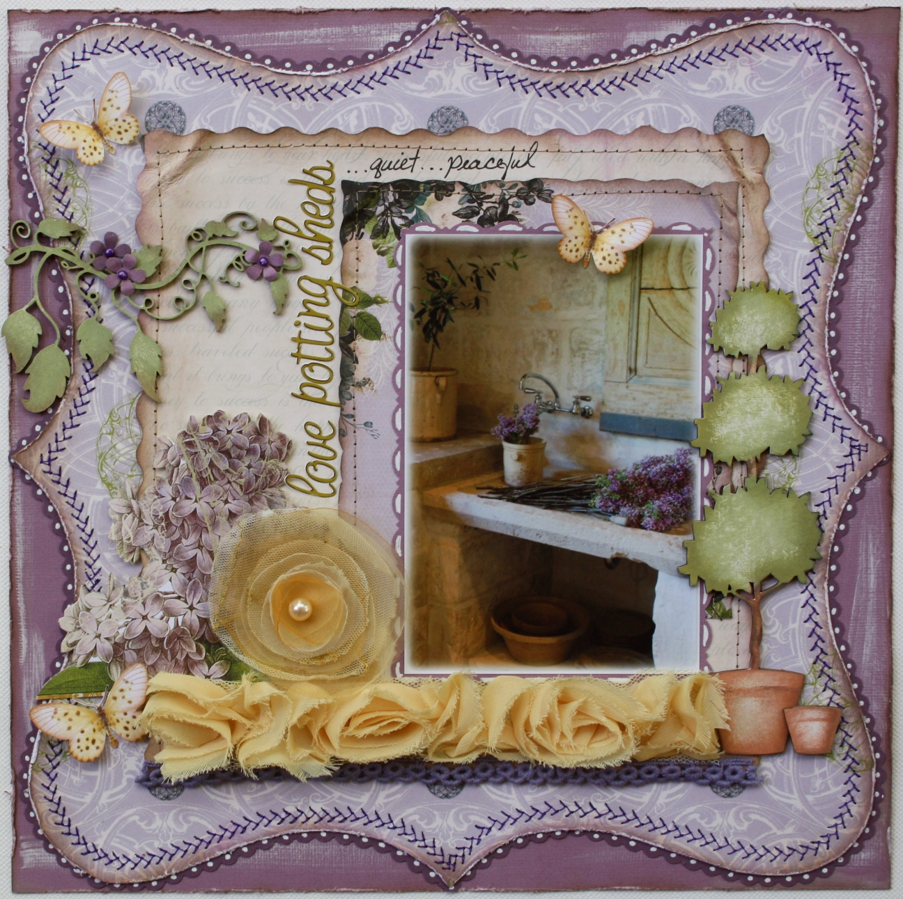 17 Lively Shabby Chic Garden Designs That Will Relax And: Such A Pretty Mess: Websters Pages & Dusty Attic Page :