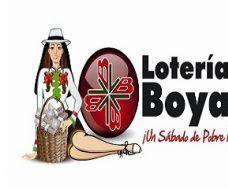 Lotería de Boyacá sabado 8 de diciembre de 2018 Sorteo 4245