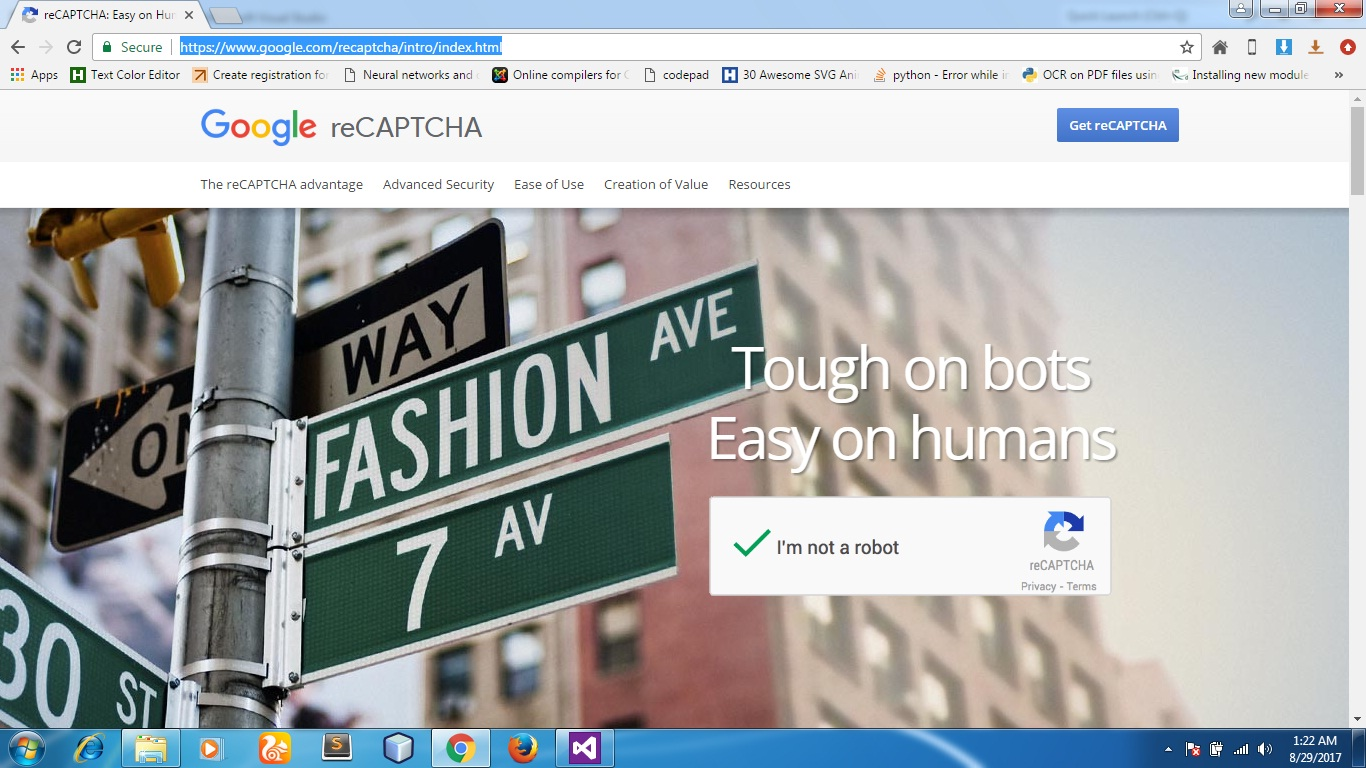 Code Era: How to use Google reCaptcha in Asp Net Website