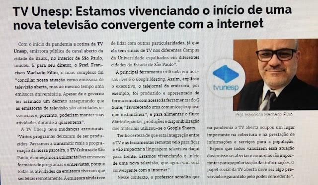 Revista Prensario Internacional aborda o Futuro da TV no Brasil