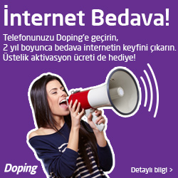 Doping Bedava İnternet Kampanyası