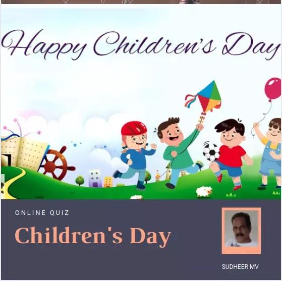 Children's Day Online Quiz 2020 MM & EM