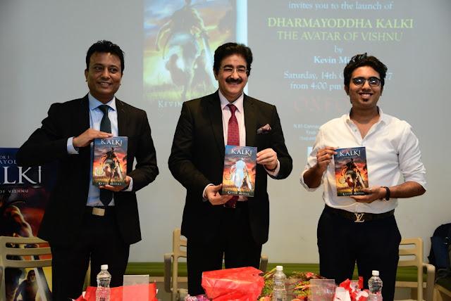 Dharmyoddha Kalki, a launch of Indian Superhero A book on Avatar of Vishnu