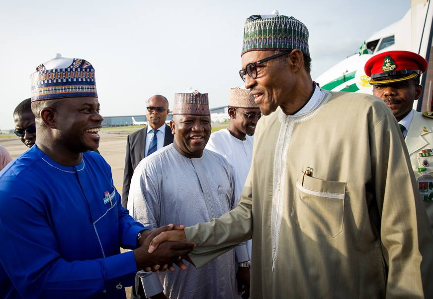president buhari returns to nigeria london
