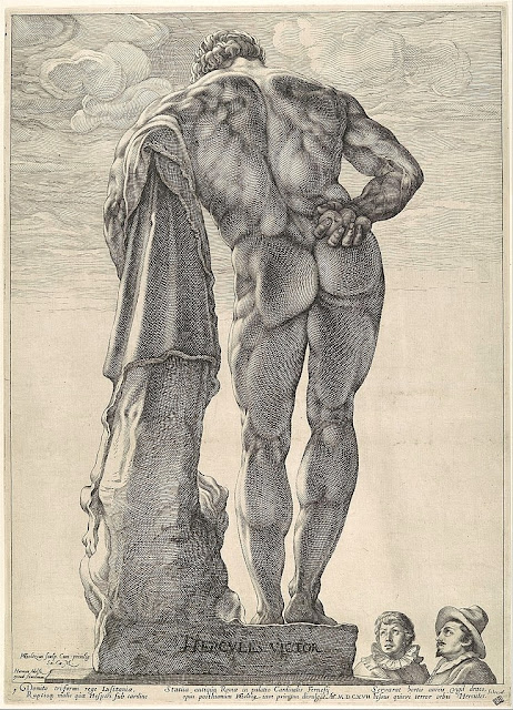 Hendrick Goltzius - Ercole Farnese - dream men - arte