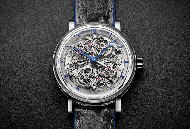 Breguet Classique Double Tourbillon 5345 Quai de l'Horloge 5345PT/1S/7XU
