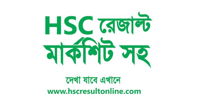 HSC result 2019 with marksheet