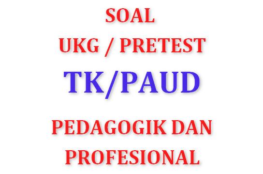 Contoh Soal Pretes untuk guru TK/PAUD