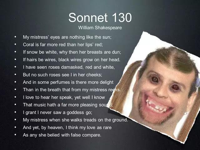 Shakespeare's Sonnet No. 130: Full Text