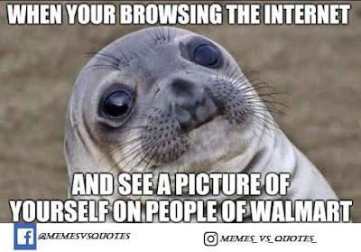 Internet awkward meme