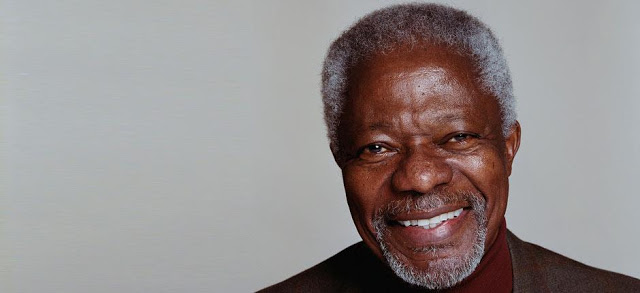 Kofi Annan Releases Statement On Maldives