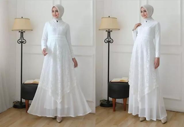 Cara memilih gamis brokat yang sesuai bagi wanita muslimah