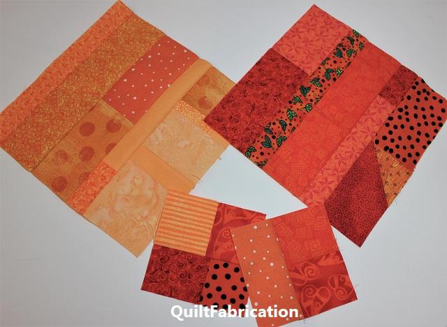 orange scrap blocks