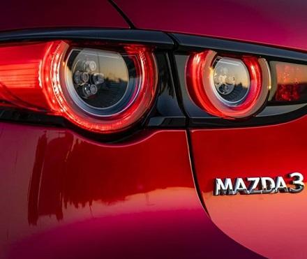 Lampu Belakang All New Mazda 3