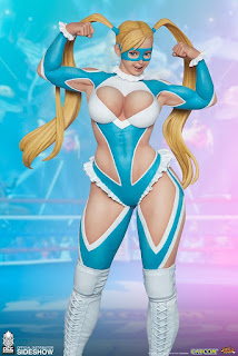 Estatua de Raimbow Mika de Street Fighter V, PCS Collectibles