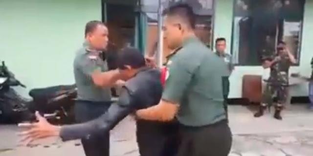Tak Sekedar Jago Tempur, Anggoa TNI ini Juga Ahli Tenaga Dalam