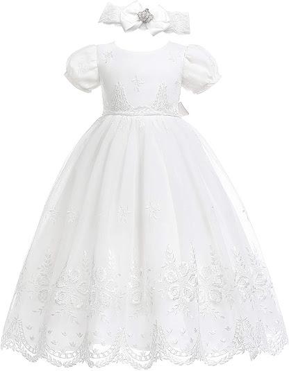 White Baby Girl Dresses