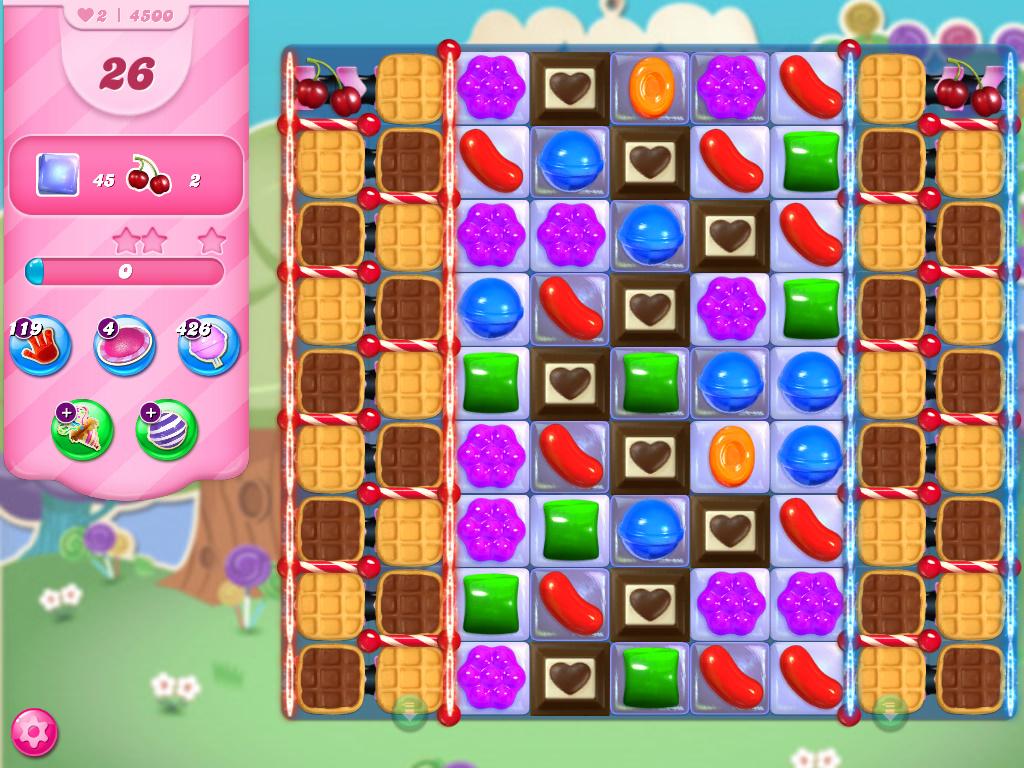 Candy Crush Saga level 4500
