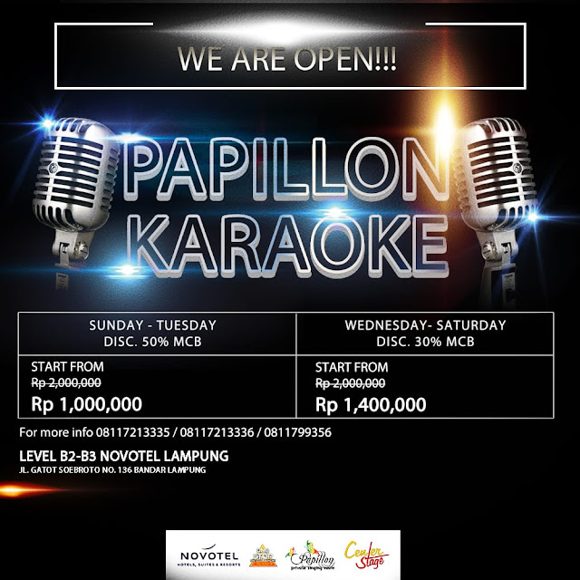 Papillon Karaoke Buka Dengan Terapkan Protokol Kesehatan Yang Ketat