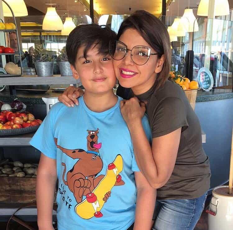 Hadiqa Kiyani Pictures with her Son Nadaay Ali on his Birthday