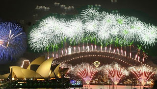 Famous cities for New Year's Eve shows