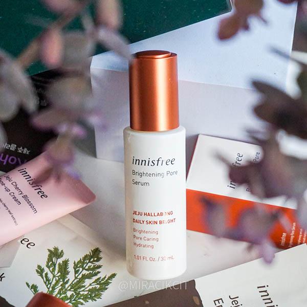innisfree Brightening Pore Serum Review