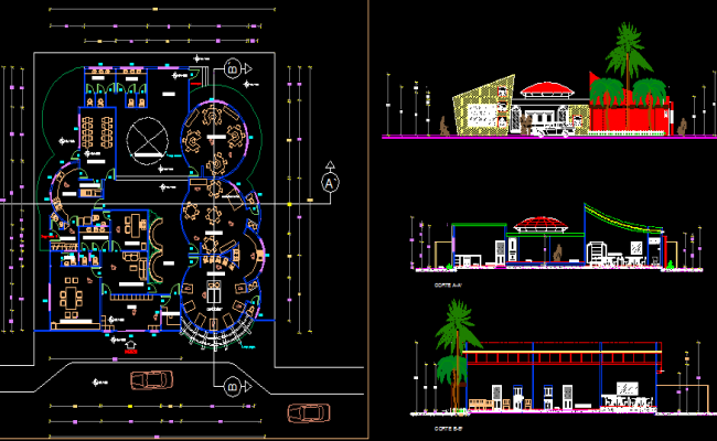Restaurant Kitchen Plan Dwg interesting restaurant kitchen plan dwg layout dimensions full