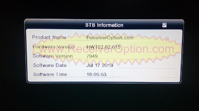 ALI3510C HW102.02.015 TEN SPORTS & CCCAM OK NEW UPDATE WITH STARSAT MENU