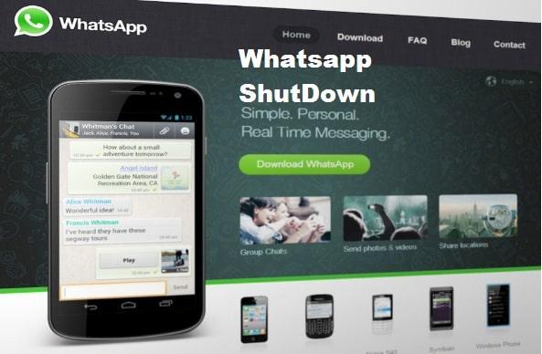 क्या Whatsapp बंद होने वाला है?