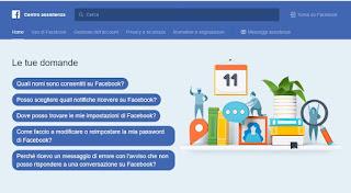 Contattare Facebook