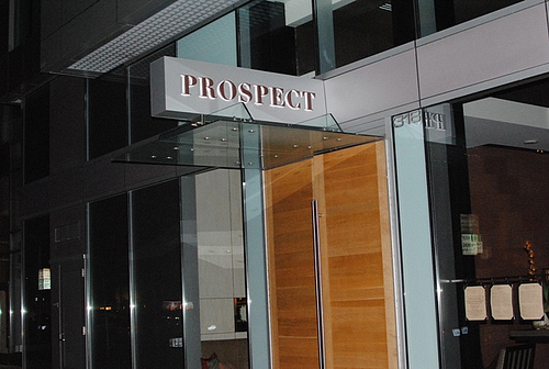 Prospect Restaurant  Spear Street