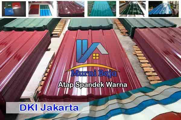 Harga Atap Spandek Warna Jakarta Murah Terbaru 2020