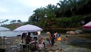 Pulau Batu Pemandian Alami, Tempat Wisata di Desa Talang Asal Kab. Merangin