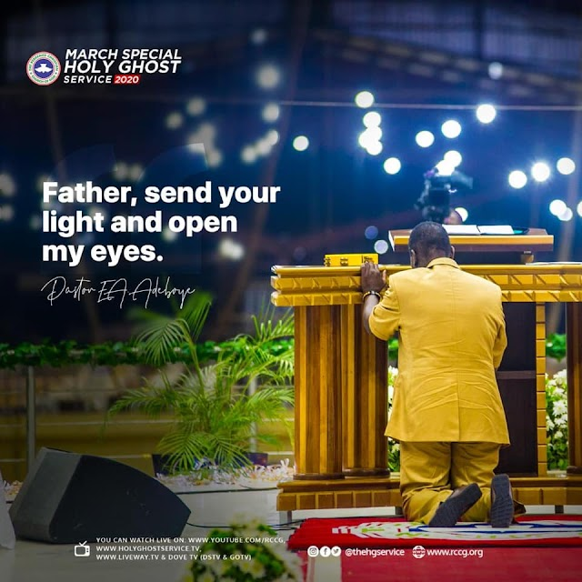 PRAYER POINTS ON TODAY'S OPEN HEAVENS 7TH AUGUST 2020