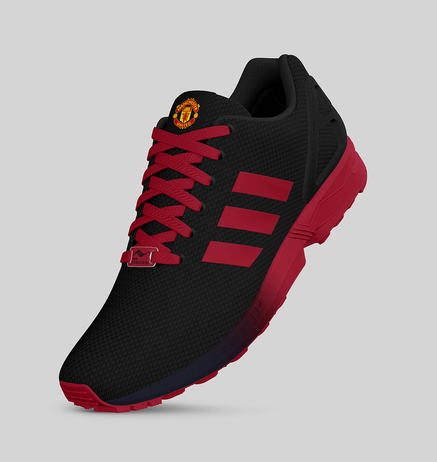 ... hot zx flux mi adidas adidas manchester united zx flux sneakers 27089  b79b2 83800c2f5