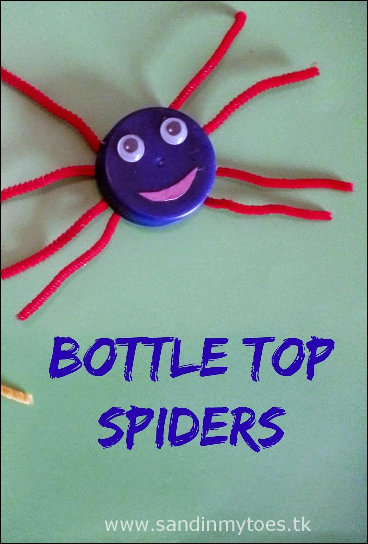 Bottle Top Spiders