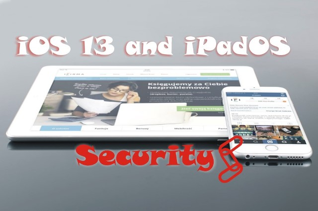 iOS 13 (and iPadOS) and security
