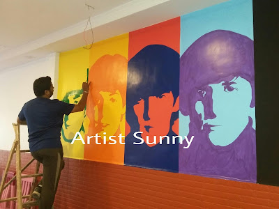 Wall Mural Artist in Mumbai | Experienced Wall Mural Artist | Wall Artists India