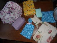 noël tote bag emballage déchet papier cadeau furoshiki tissu poubelle