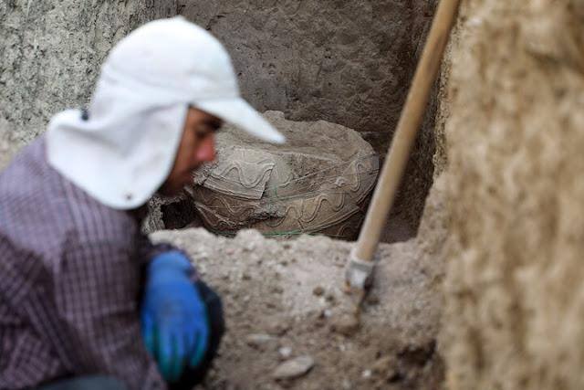 Parthian jar burial found in central Iran