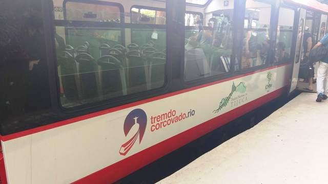 Novo trem do Corcovado